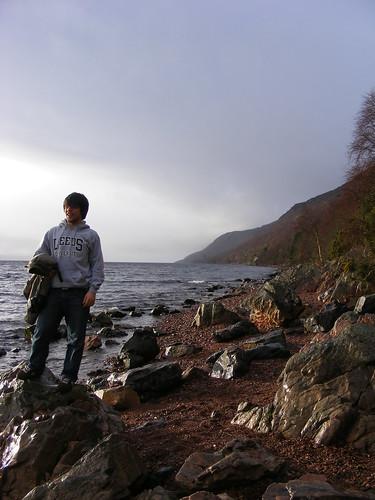 Héctor en el lago Ness