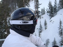 My Nephew Sam with Headgear (alist) Tags: family ski alist robison alicerobison ajrobison