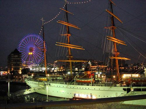 港未來21區夜景