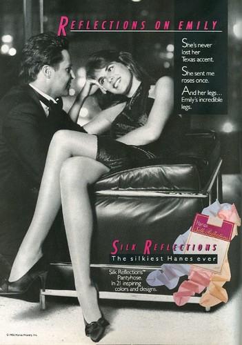 With Magazine pantyhose ads pity