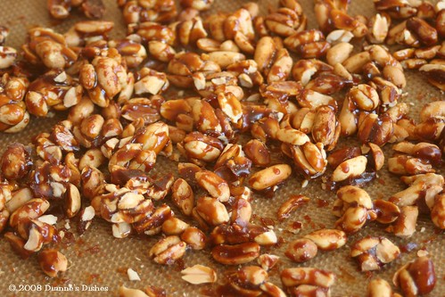 Tuesdays With Dorie: Snickery Squares: Candied Peanuts