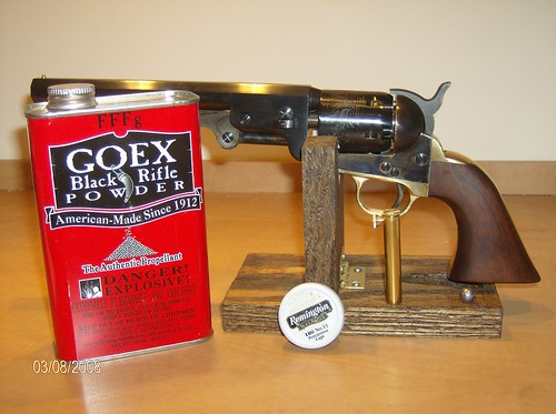 my 1851 colt navy replica from