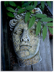 August 2006 (9405) (William Shropshire) Tags: sculpture copyright toronto ontario canada paris color colour art garden photography shropshire © william plaster erosion photographs weathered ageing of