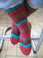 PS3 Fire - Fassett socks