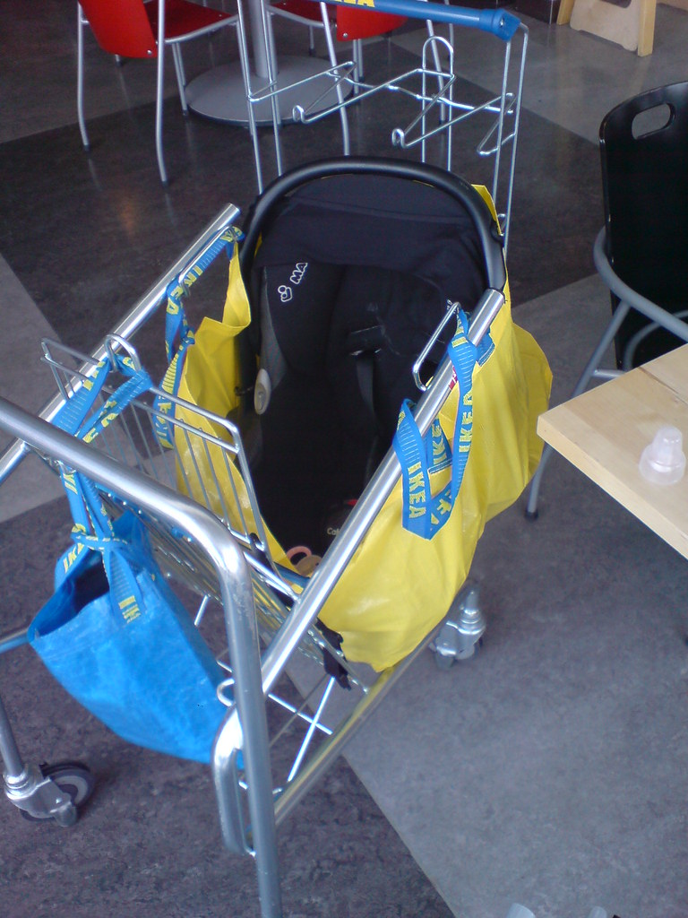 Car seats and stroller car seats baby front bike seat for Ikea luggage cart