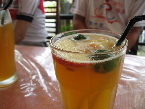 不冰不好喝的水果茶