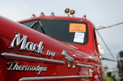 Thermodyne (Rohan Phillips) Tags: b red classic kids truck for big model nikon bulldog semi 1950s rig adelaide trailer 2008 mack convoy trucking novita d300 thermodyne
