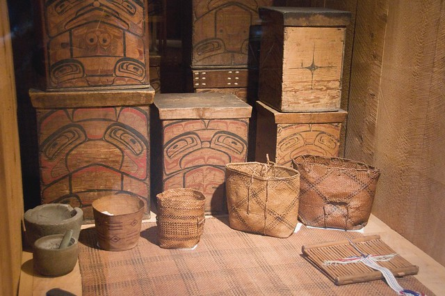 Tsimshian Cultural Objects by A Davey