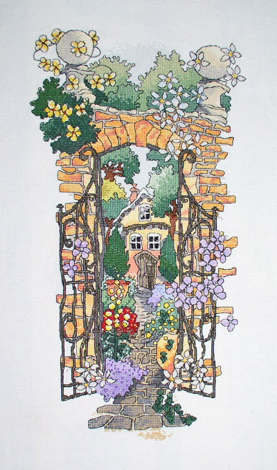 the Secret Garden finished :)