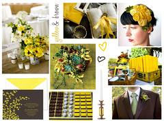 2983374549 baed2b6e9d m Baú de ideias: Decoração de casamento marrom (chocolate) e outras cores