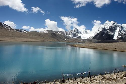 gurudongmar lake: 17000 feet