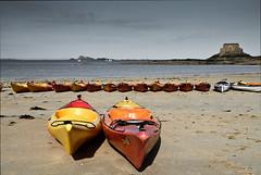 Descendance. (jeanpierre) Tags: kayak bretagne plage saintmalo bonsecours petitbe eos7d