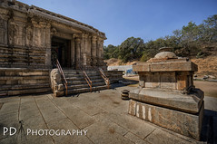 Talakadu Temple (Paramantapa Dasgupta (PD)) Tags: from travel temple sand weekend indian bangalore places historic temples karnataka sites talakadu ancientindianarchitecture talakada