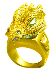 Dragon Ring Gold