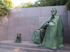 FDR and his pal, Fala