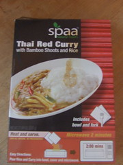 Spaa Thai red curry