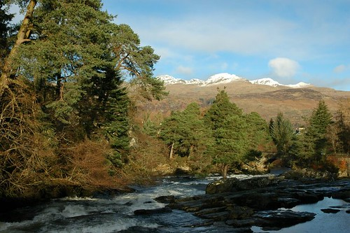 The Tarmachan ridge above Killin