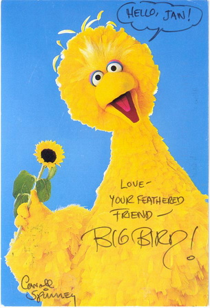 Sesame Street's Big Bird (PBS)