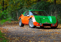 Abarth Scorpione (michaelward_autoitalia) Tags: autumn orange green magazine francis cotswolds lombardi abarth tints scorpione landi autoitalia michaelwardphotos