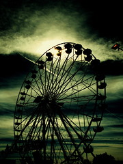 Big wheel (kevin dooley) Tags: arizona sky cloud storm green fall phoenix wheel mystery contrast circle grey book fairgrounds big interesting october downtown desert ltr cloudy circus statefair low dramatic fair ferris super best explore most mysterious intriguing resolution popular striking bigwheel drama effect processed soe exciting 2007 tonal arizonastatefair 50faves mywinners superaplus aplusphoto flickrhearts superhearts heartawards flickrsun book0