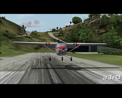 Down to the hill (a3rO) Tags: stbarth fs2004 fs9 c150 fravin tffj