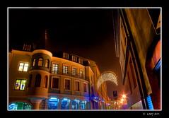 My Town at Night (Mariusz Petelicki) Tags: night town poland polska hdr noc miasto canon400d aplusphoto excellentphotographerawards chrzanw mariuszpetelicki