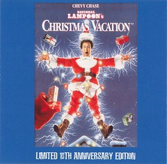 National Lampoon's Christmas Vacation soundtrack (front cover)