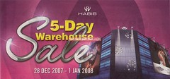 28 Dec - 1 Jan : Habib Jewels Warehouse Sale