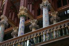 Palau de la Musica - Barcelona (brunombo) Tags: barcelona travel vacation music tourism musicians spain live modernism concerto musica gigs catalunya turismo viaggio modernismo vacanza barcellona musicisti holyday palaudelamusica llusdomnechimontaner festivit smcpda1855mmf3556al justpentax
