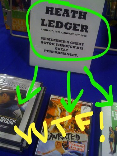 Heath Ledger and Best Buy