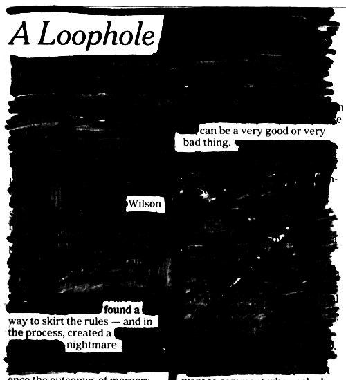 A LOOPHOLE