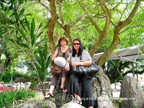 under melaka tree