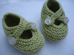 Bootees for Baby M