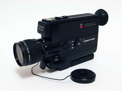 Canon 514XL Super 8 Camera
