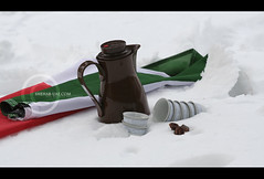 ..    (ShehaB UaE) Tags: snow cold ice coffee uae culture tradition dallah emarati