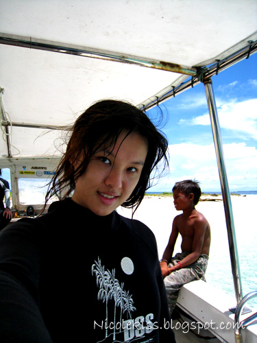 me on dive boat