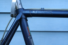 Early 80's Univega Maxima Uno- Seat Cluster (Rocksteady01201) Tags: bicycle steel uno frame maxima roadbike lug seatpost univega