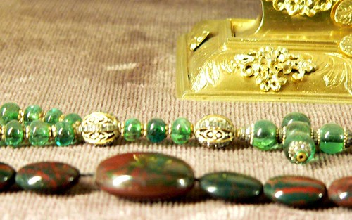 Emerald rosary from the Residenz