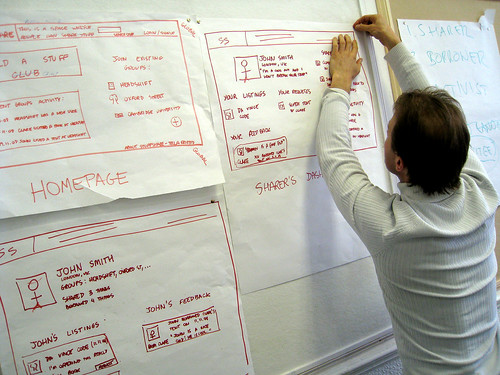 Working with wireframes (by Aleksi Aaltonentream)