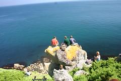 Cliffage (MikeyGumn) Tags: sea rock bristol landscape drop fieldtrip lundy uob sobs isleoflundy lundyisle
