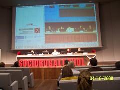 Maria José Rubio Vidal conselleira sanidade Xunta de Galicia. Inaguración 35 Jornadas Socidrogalcohol A Coruna 2008