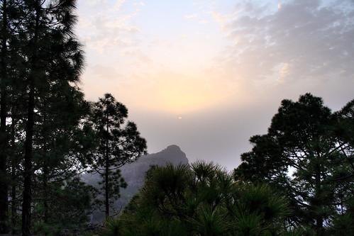 Roque Faneque desde Tamadaba
