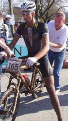 RiderRacer Timm Jander beim Rennen in Coburg