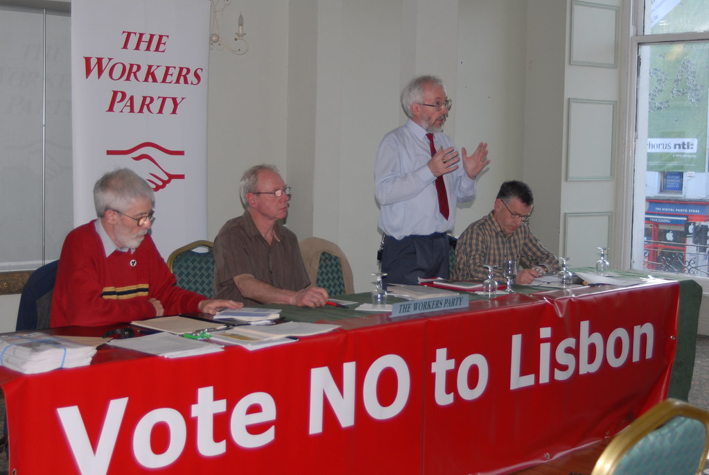 Workers Party meeting in Cork