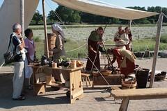 Eröffnungsfeier der 7 Wikinger Häuser - Museumsfreifläsche Wikinger Museum Haithabu WHH 07-06-2008