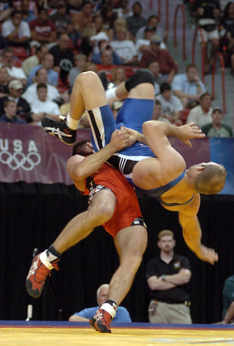 The ages of Olympic Grapplers (Judo and Freestyle Wrestling