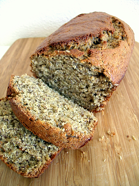 Banana Bread w/ Flaxseed Meal (again)