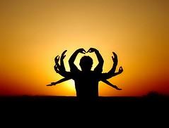 I am l e g e n d ... (e 11 e v e n) Tags: sunset silhouette iran 11 shiva    hindugod visiongroup   vision100      parallelprocessing