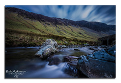 Honister Pass (R0BERT ATKINSON) Tags: lakedistrict lakes robatkinsonphotography honisterpass cumbria waterfall river sky clouds nikond5100 leefilter sigma1020