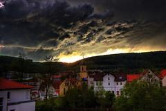 Wolken - Oberkochen